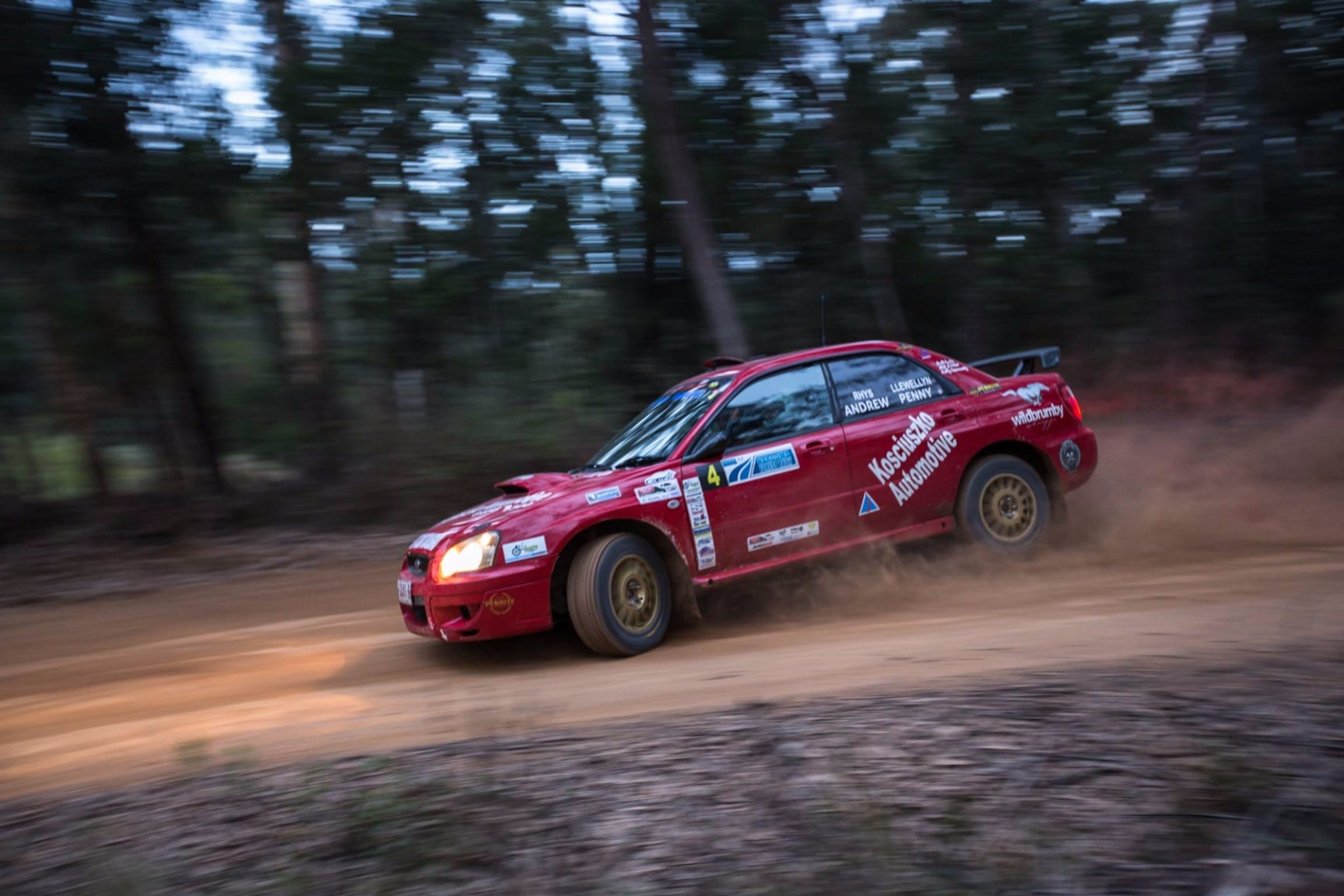 Narooma Forest Rally - Accommodation Gladstone