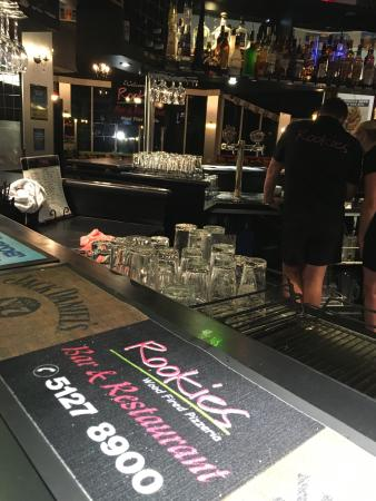 Rookies Pizzeria Bar  Grill - Accommodation Gladstone