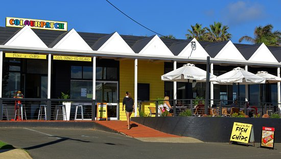 Colourpatch Fish  Chips and Cafe - Accommodation Gladstone