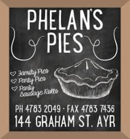 Phelan's Pies - Accommodation Gladstone